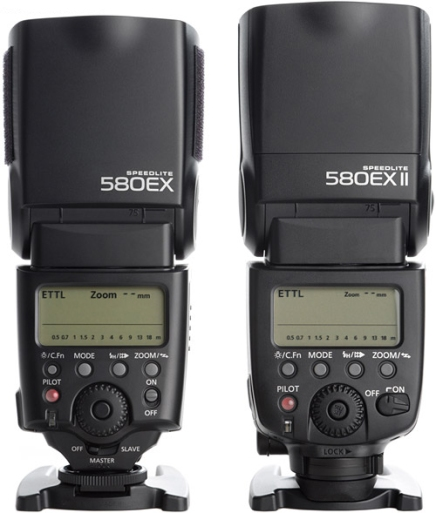 Canon-Speedlite-580ex-II-Flash-Comparison-Back